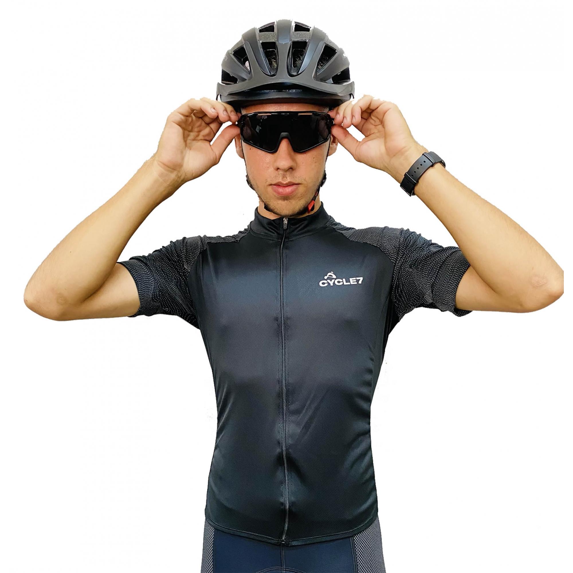 Camisa Ciclismo Com Mangas Refletivas - Cycle 7