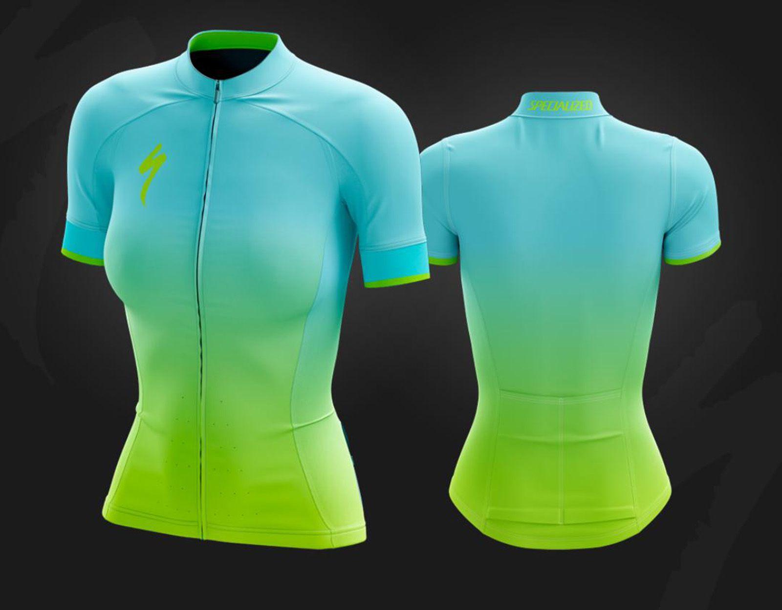 Camisa Ciclismo Feminina c/ Proteção UV e Refletivo - Refactor