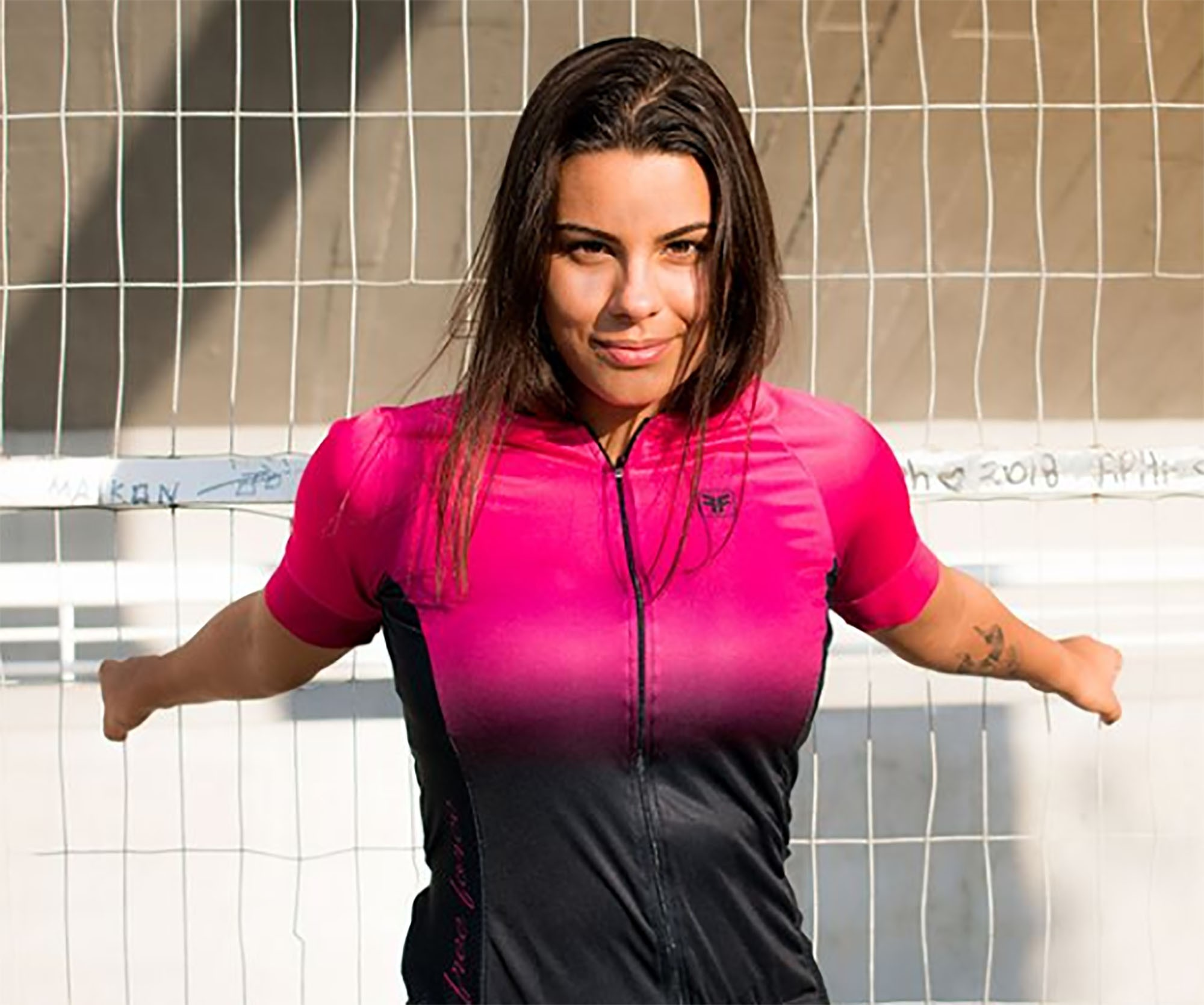 Camisa Ciclismo Feminina Dual - Free Force