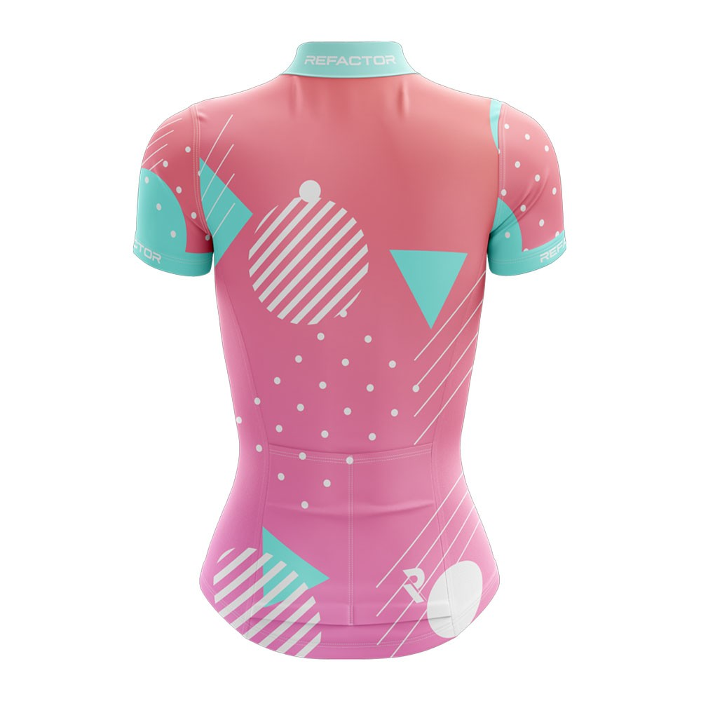 Camisa Ciclismo Feminina Forms - Refactor