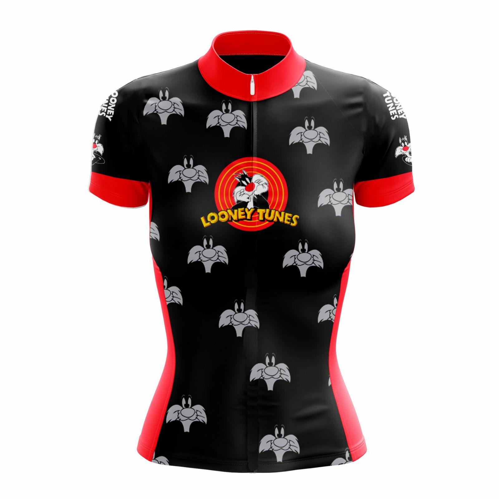 Camisa Ciclismo Feminina Looney Tunes Frajola - Scape