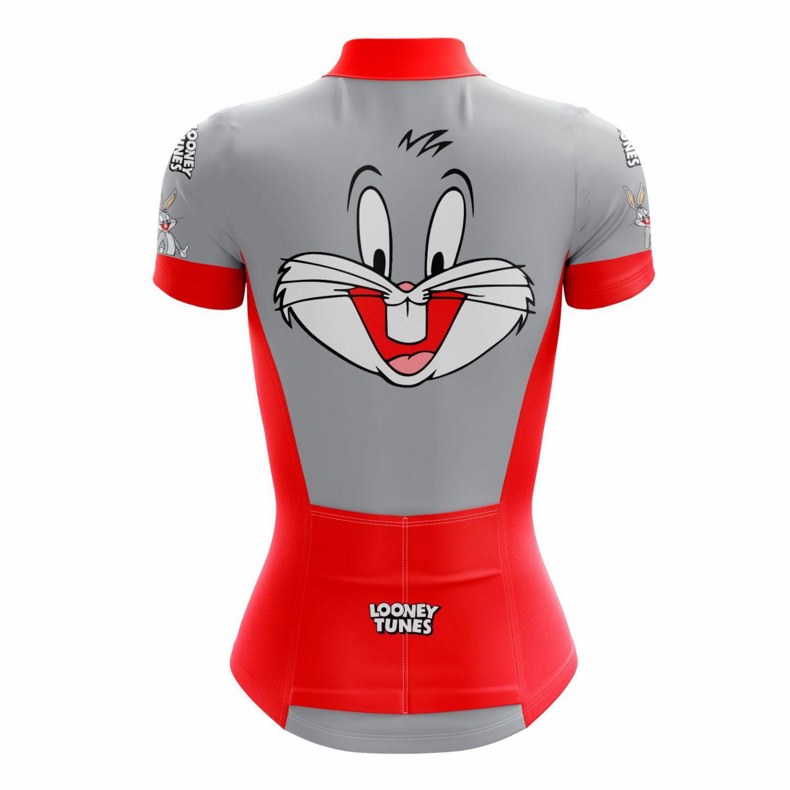 Camisa Ciclismo Feminina Looney Tunes Perna Longa - Scape