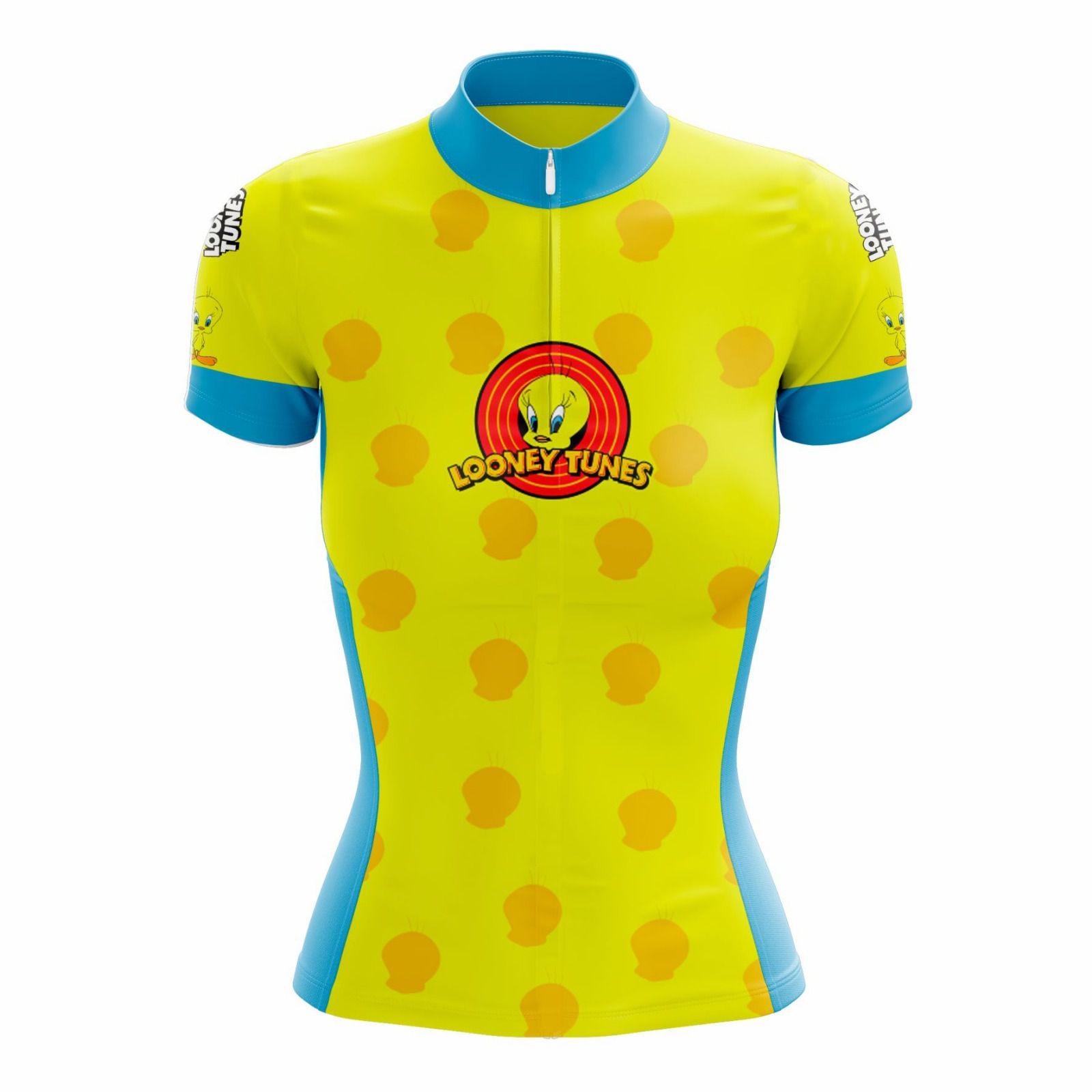 Camisa Ciclismo Feminina Looney Tunes Piu Piu - Scape