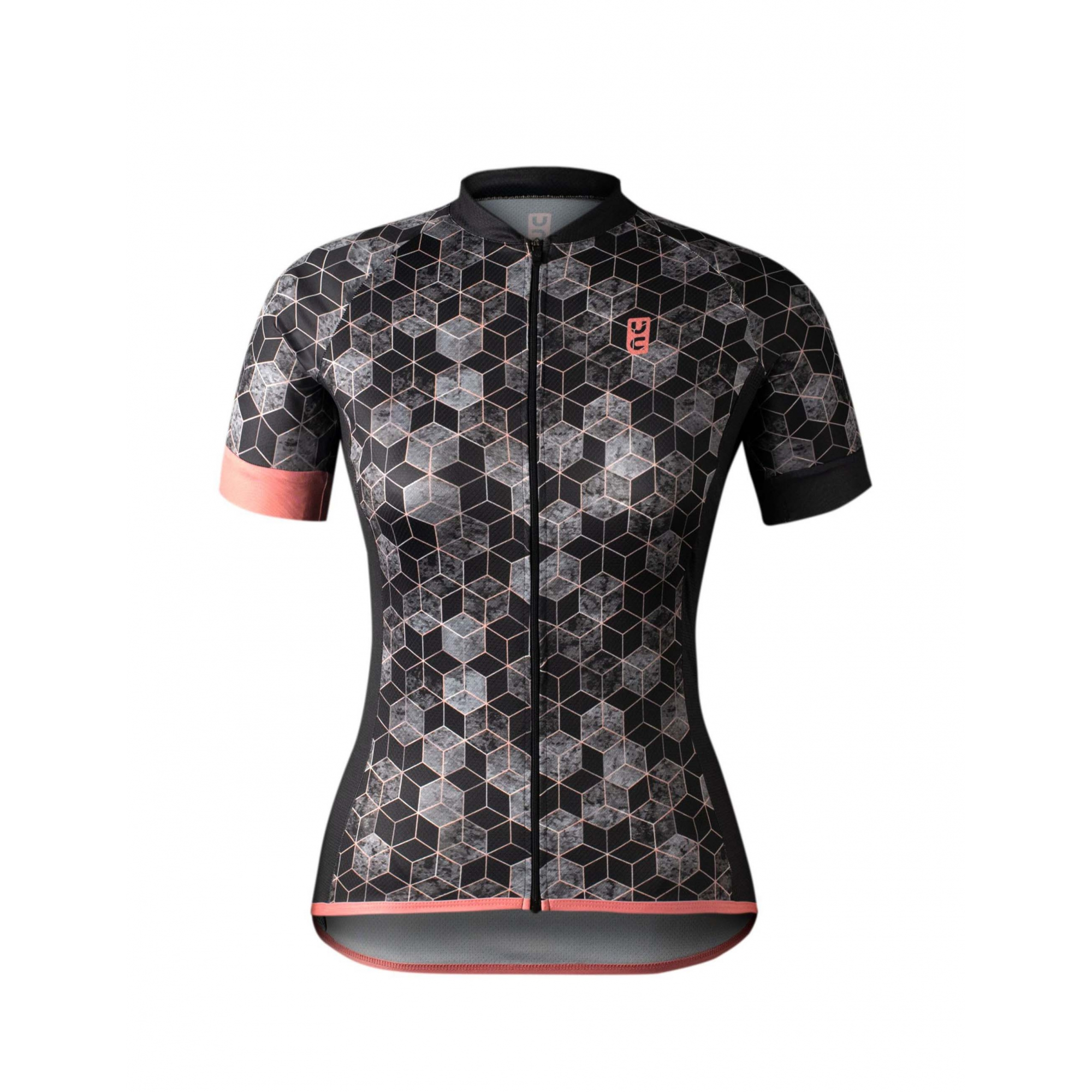 Camisa Ciclismo Feminina New Abstract  - Ultracore