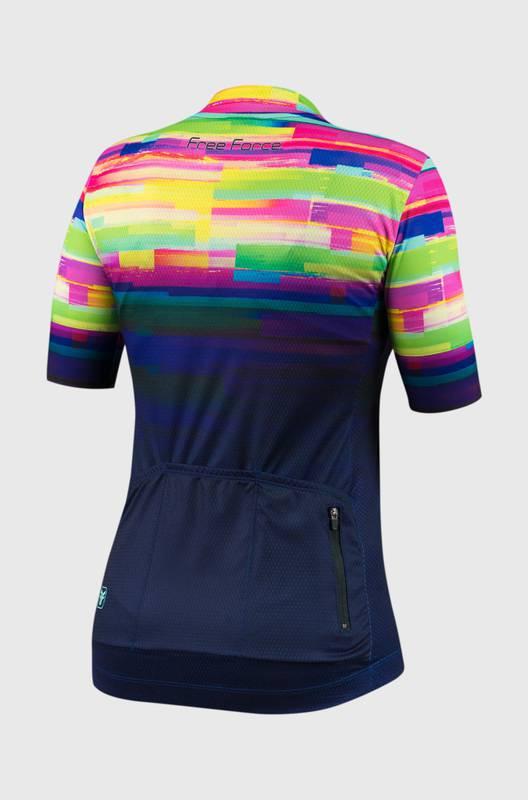 Camisa Ciclismo Feminina Psicodelic  - Free Force