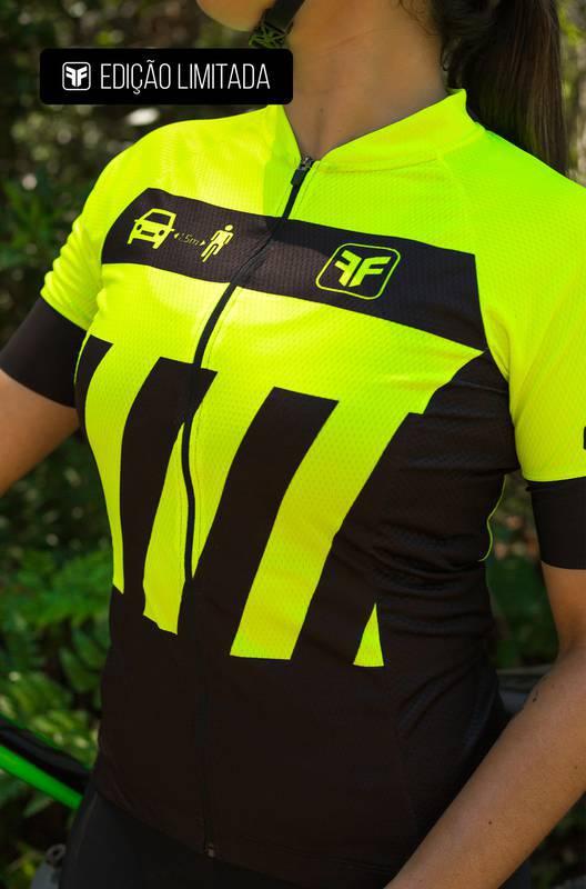 Camisa Ciclismo Feminina Transit Edição Limitada- Free Force