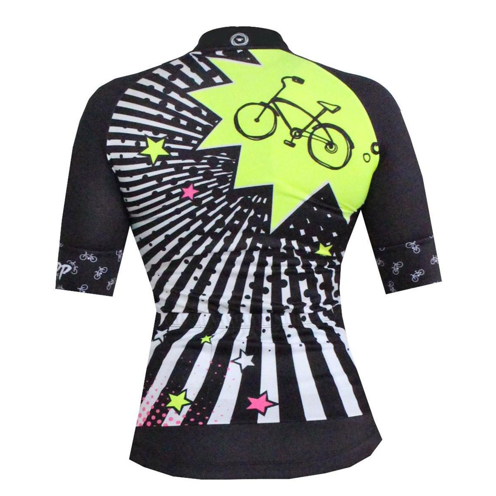 Camisa Ciclismo Girls Bike Preta - Ciclopp