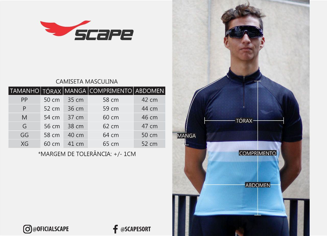 Camisa Ciclismo Justiceiro - Scape