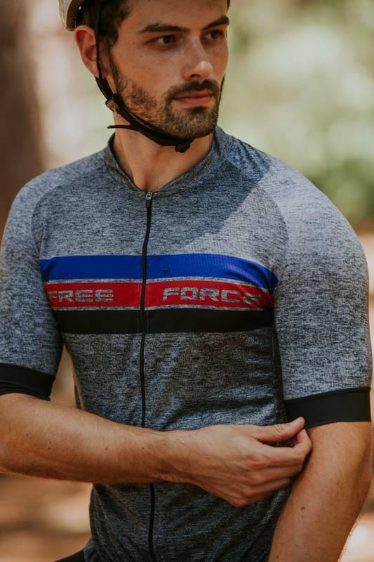 Camisa Ciclismo Masculina Cast - Free Force