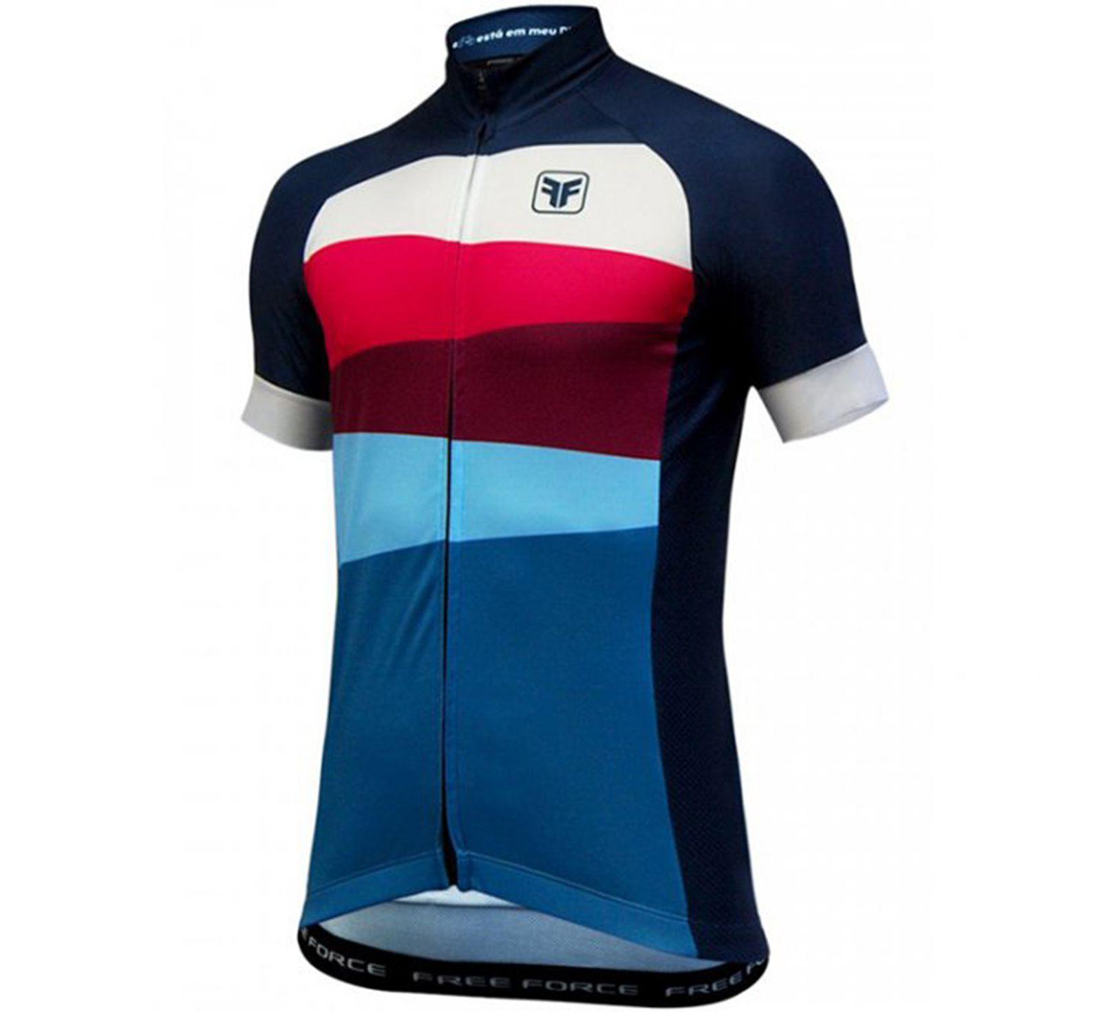 Camisa Ciclismo Masculina Flush - Free Force