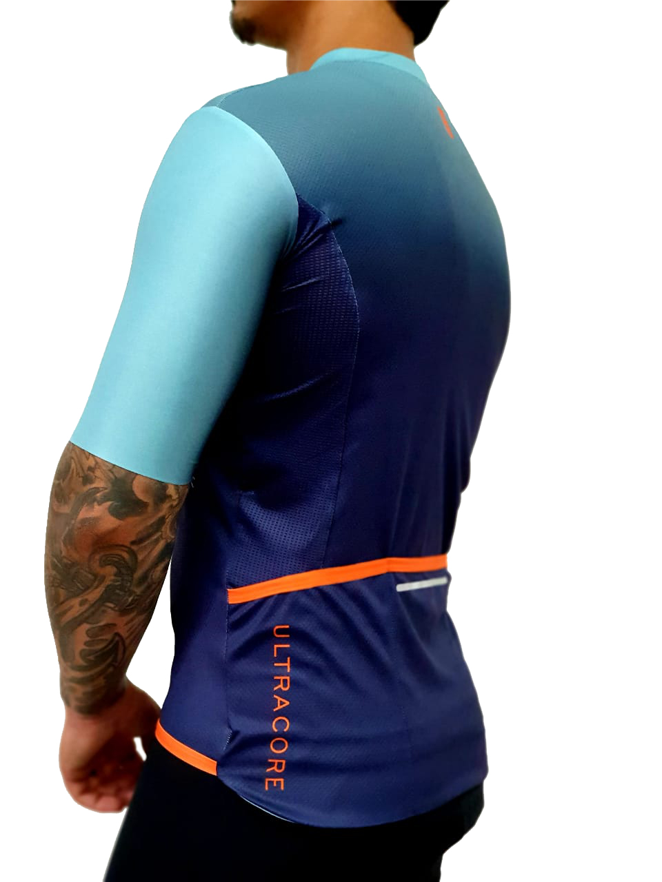 Camisa Ciclismo Masculina Gradiente - Ultra Core