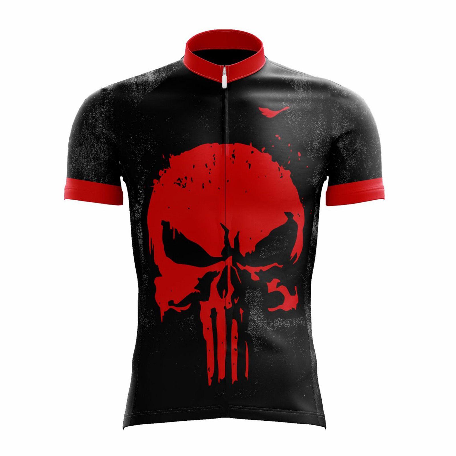 Camisa Ciclismo Masculina Justiceiro 2.0 c/ Proteção UV - SCAPE