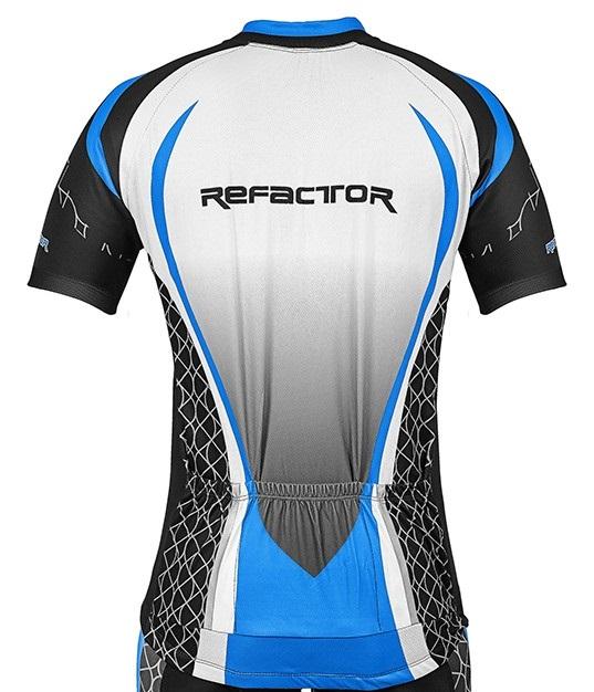 Camisa Ciclismo Masculina New SLim com refletivo e proteção UV50