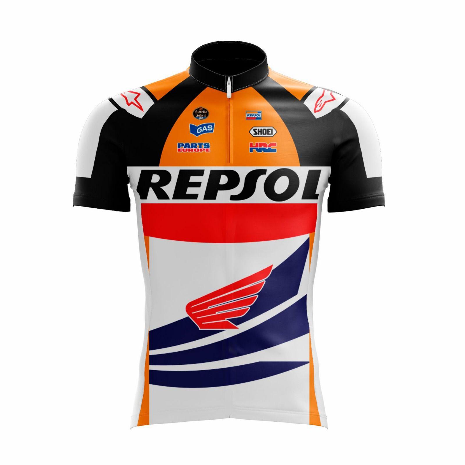 Camisa Ciclismo Masculina Repsol - Scape