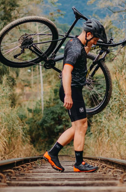 Camisa Ciclismo Masculina Sport Chaotic - Free Force