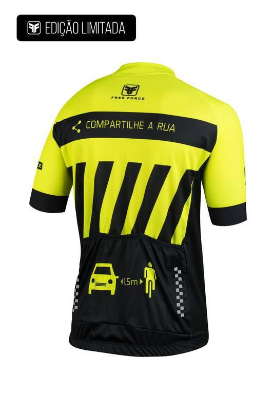 Camisa Ciclismo Masculina Transit Edição Limitada- Free Force