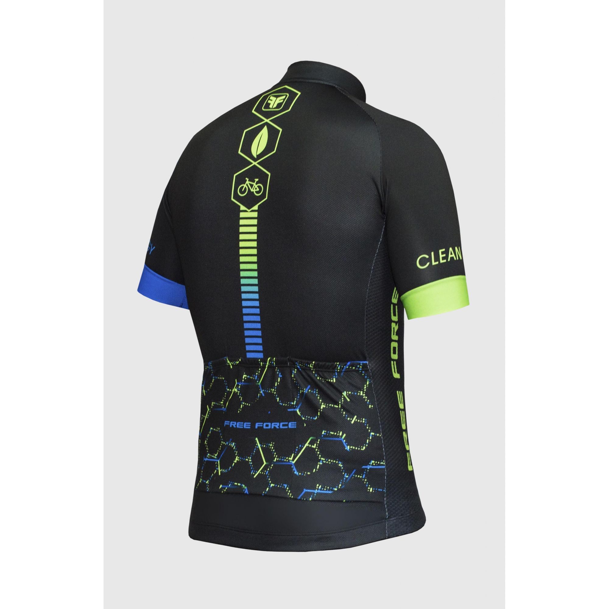 Camisa Ciclismo Sport Clean Energy - Free Force