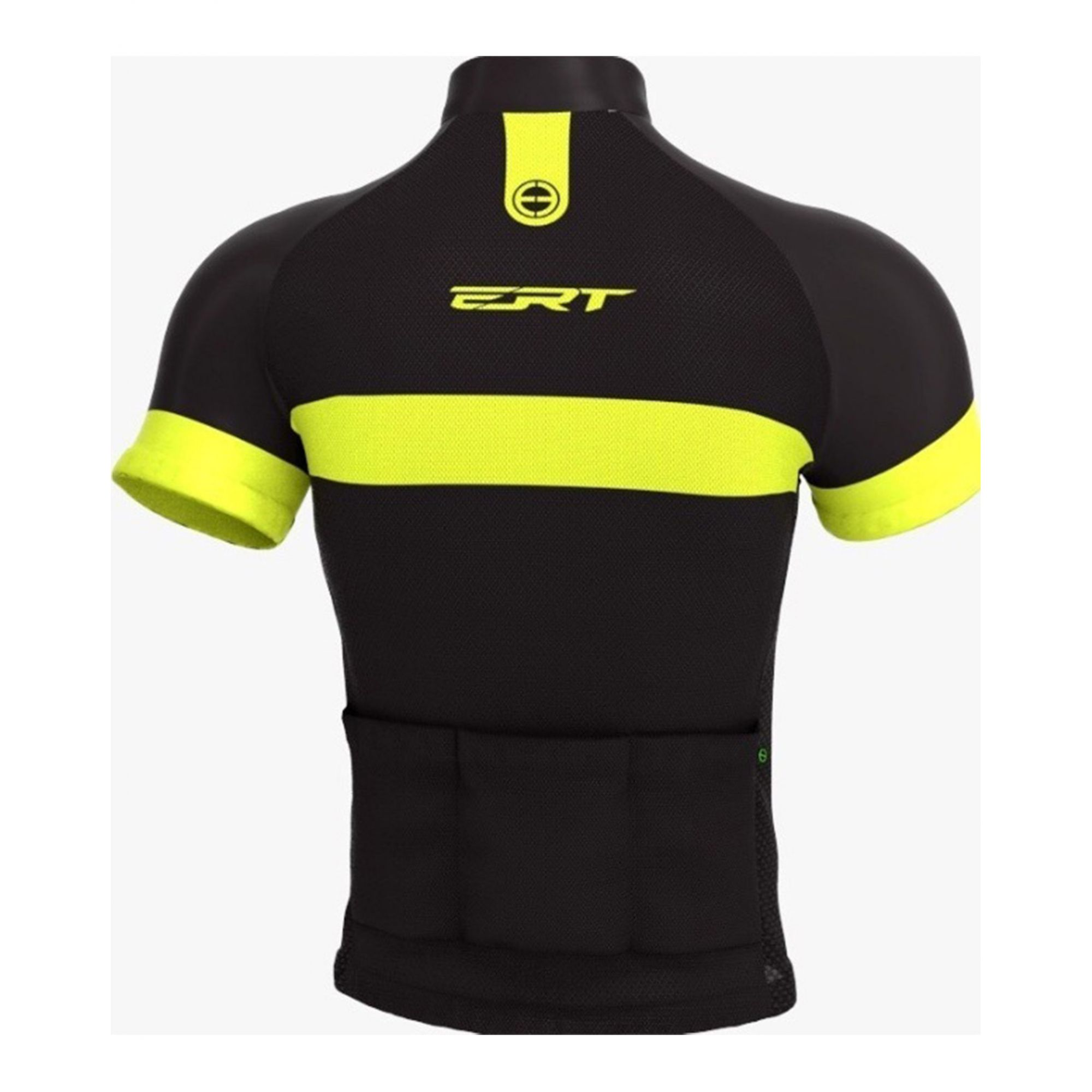 Camisa Ciclismo Tour Strip Black - ERT