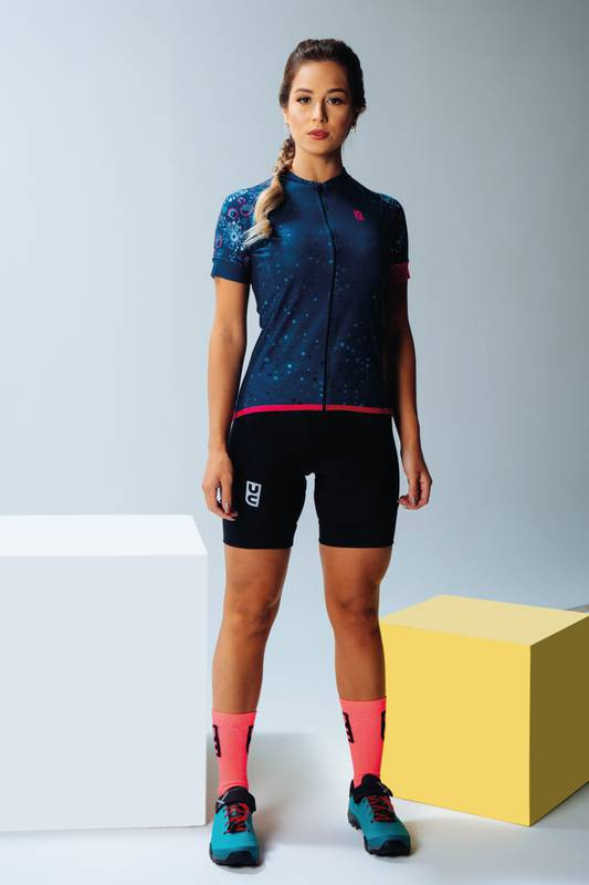 Camisa Feminina Ciclismo Colorful Vintage - Ultracore