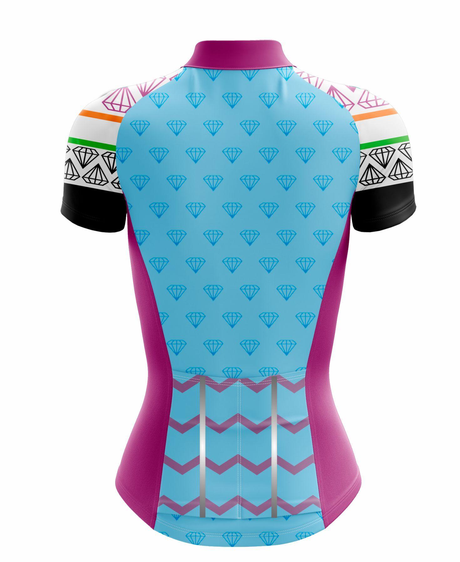 Camisa Feminina Ciclismo Diamante - Scape