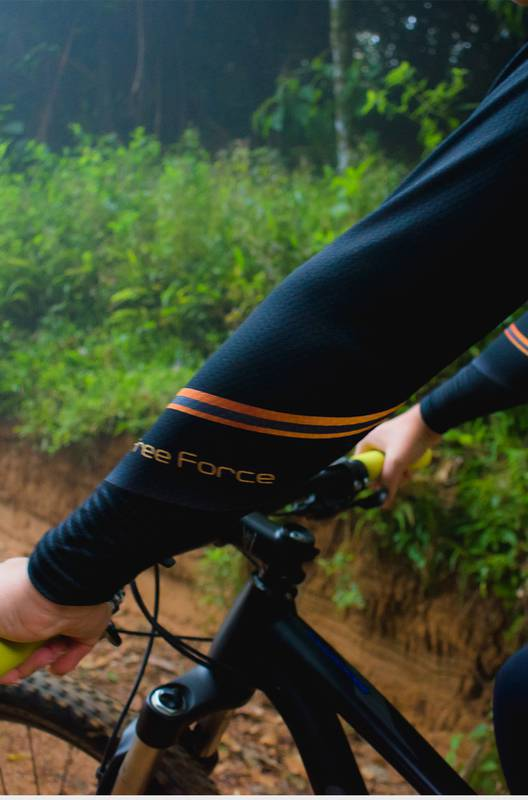 Camisa Feminina Ciclismo Manga Longa Sport Supreme - Free Force