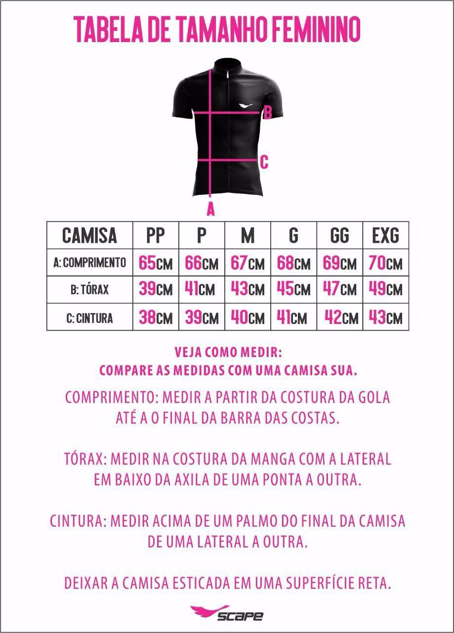 Camisa Feminina Ciclismo Mulher Maravilha - Scape