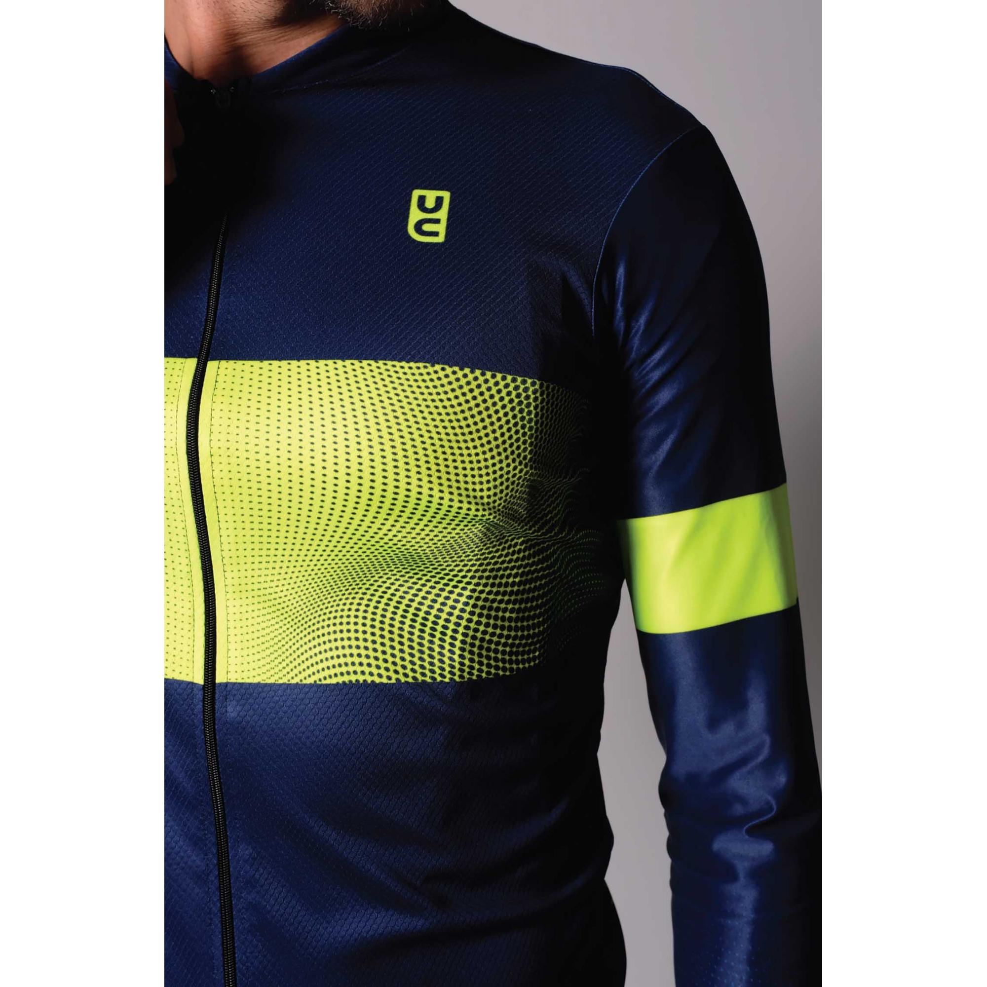 Camisa Masculina Ciclismo Manga Longa Reach - Ultracore