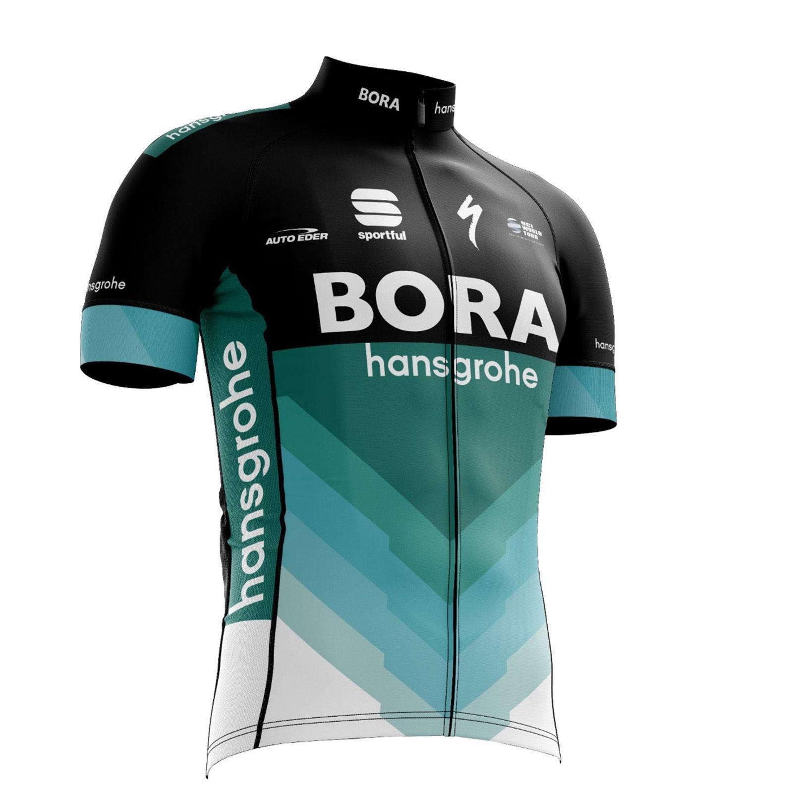 Camiseta Ciclismo Bora 2018 World Tour com proteção UV50 - Refactor