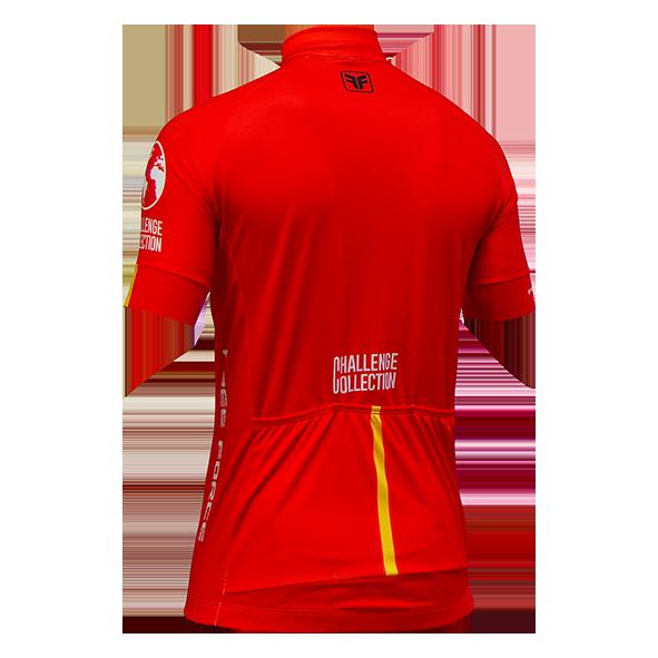 Camiseta Ciclismo Masculina Challenge Vuelta Vermelha - Free Force
