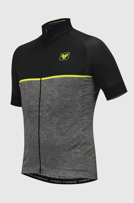 Camiseta Ciclismo Masculina First Mescla - Free Force
