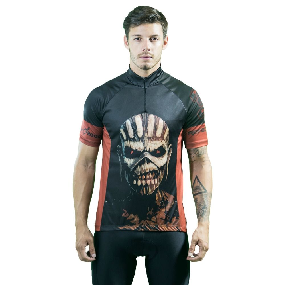 Camiseta Ciclismo Masculina Rock N´Road - Iron Maiden - Refactor
