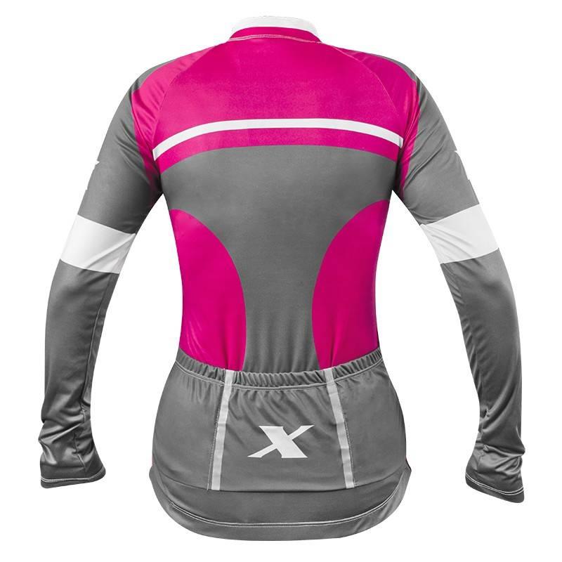 5ff6eadbd0 Camiseta Ciclista Feminina 3XU 467 Manga Longa - Refactor - Londrina ...