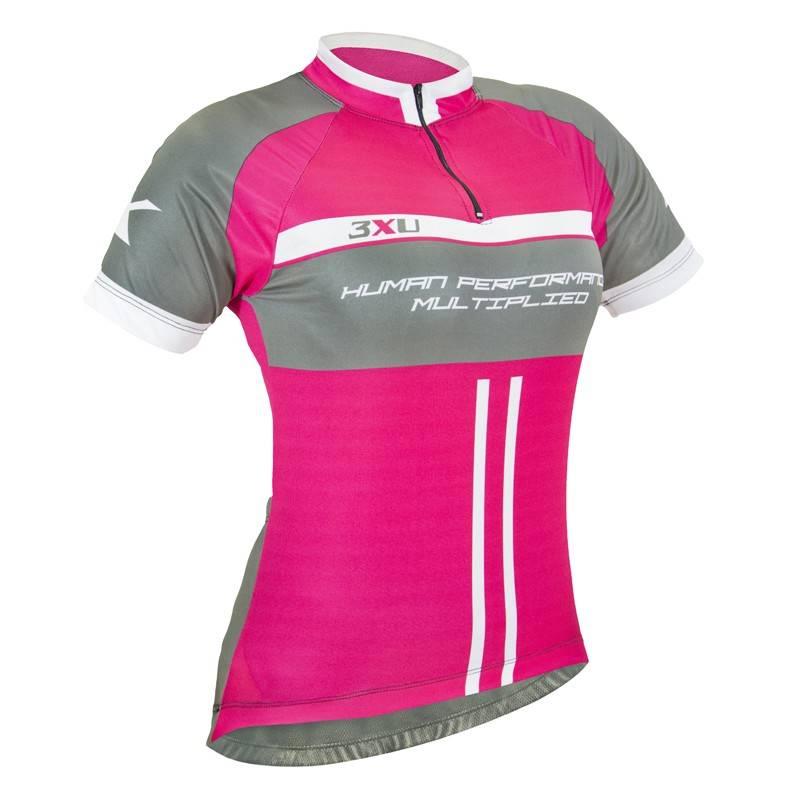 Camiseta Ciclista Feminina 3XU 467 - Refactor