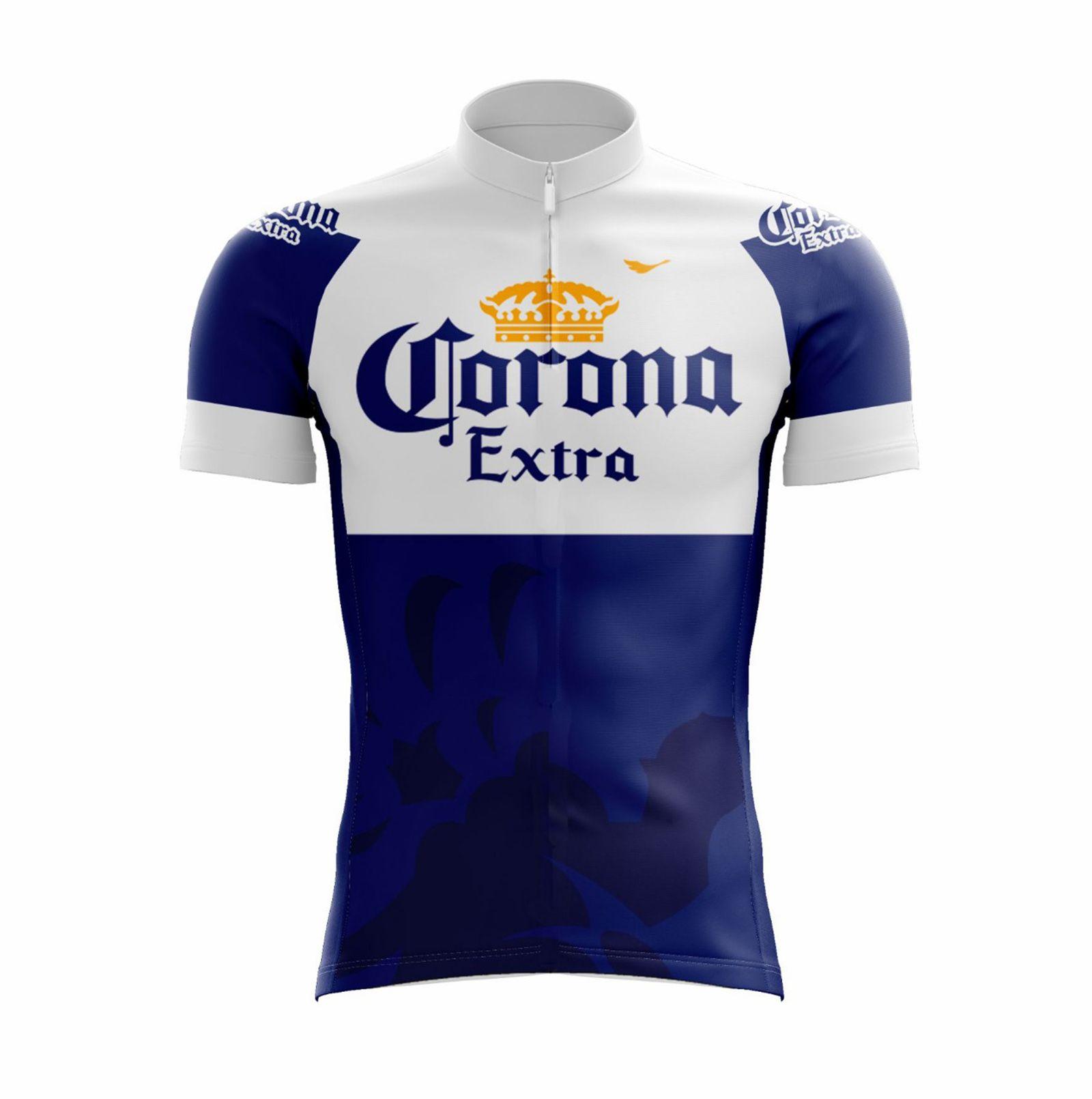 Camiseta Ciclista Masculina Corona com Proteção UV - Scape
