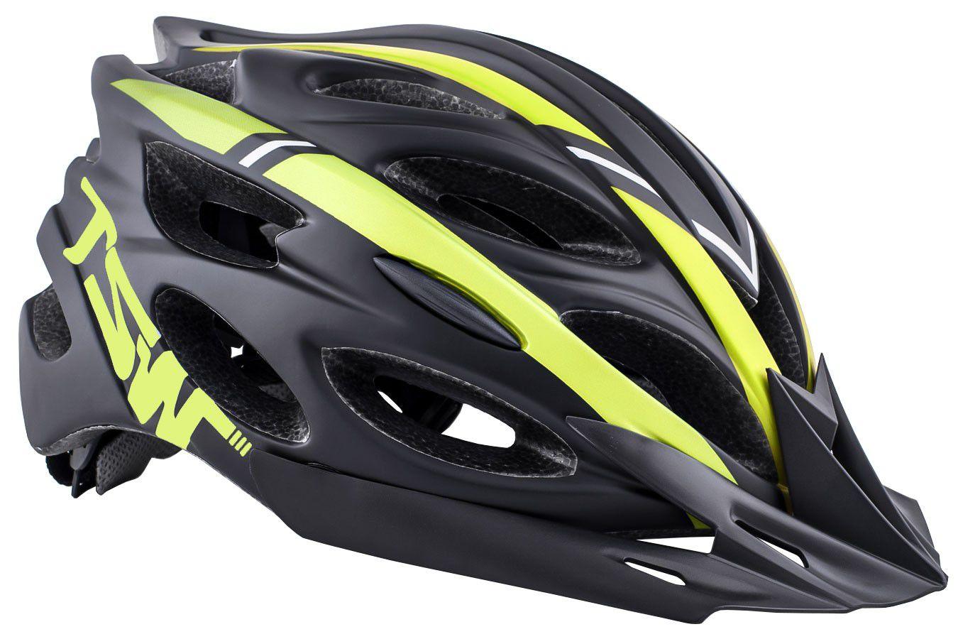 Capacete Ciclismo MTB Tune Preto/Vermelho/Azul - TSW