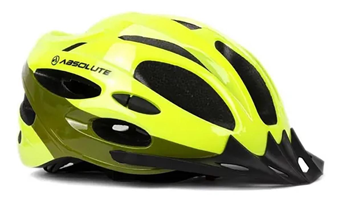 Capacete Ciclismo Nero C/ Led Diversas Cores - Absolute