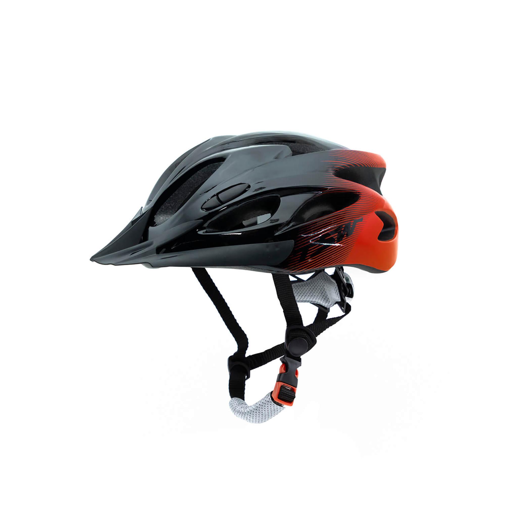 Capacete Ciclismo Raptor Com LED e Viseira  - TSW
