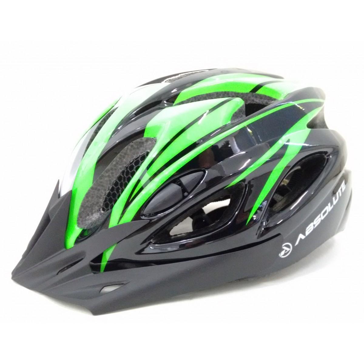 Capacete MTB Ciclismo Absolute com Led Traseiro