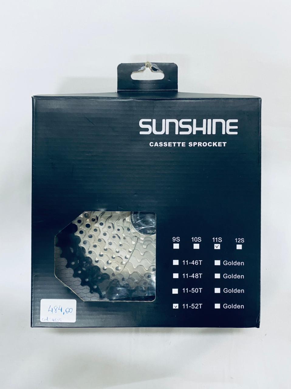 Cassete 11v 11/52 dentes - Sunshine