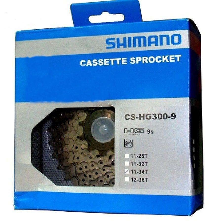 Cassete Catraca 9s CS-HG300-9 11-34T - Shimano