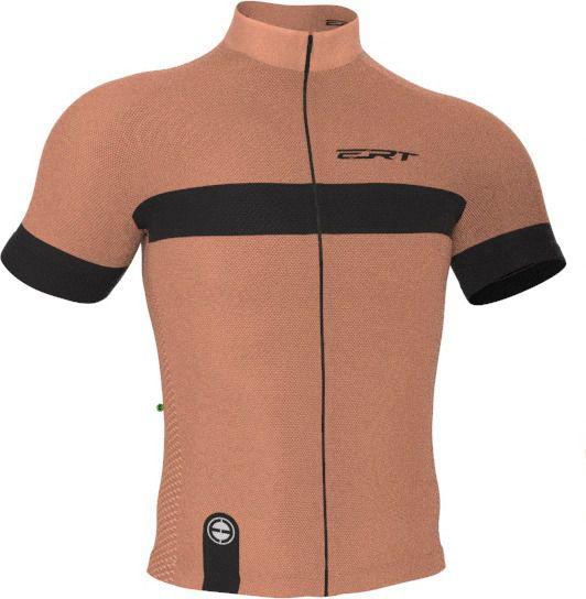 Camisa Ciclismo Tour Strip Salmão - ERT