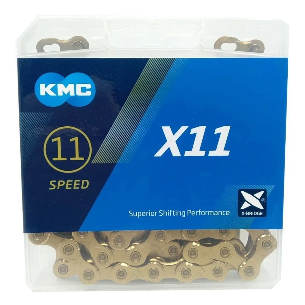 Corrente X11 Dourada  - KMC