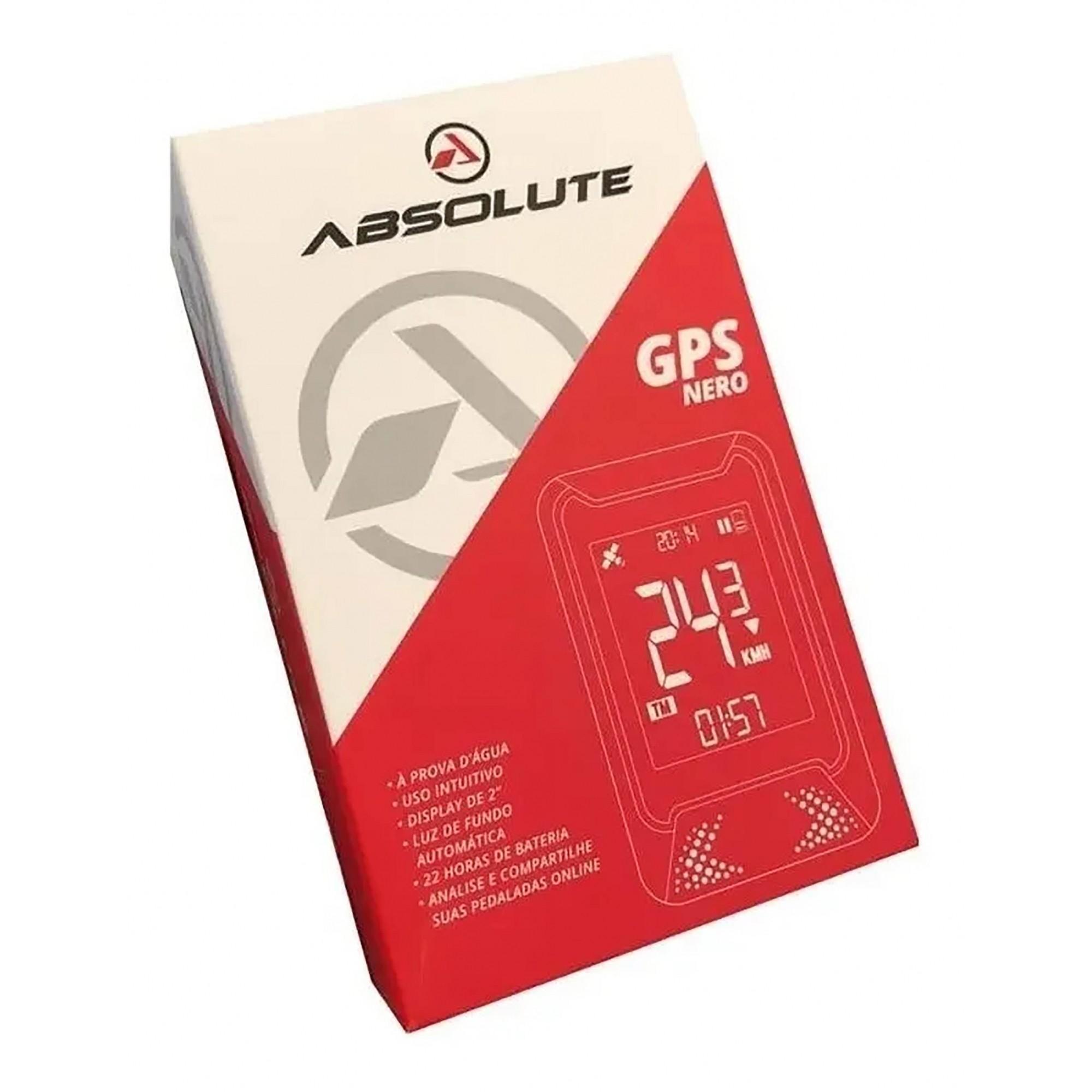 GPS NERO PTO/CINZA - ABSOLUTE