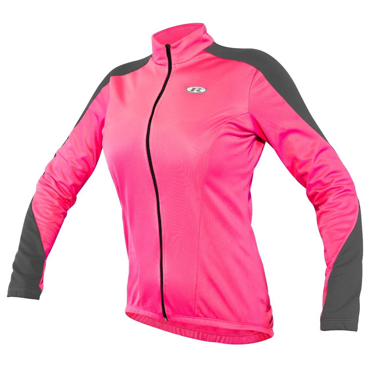 Jaqueta Ciclismo Feminina Rosa 4.2 - Refactor