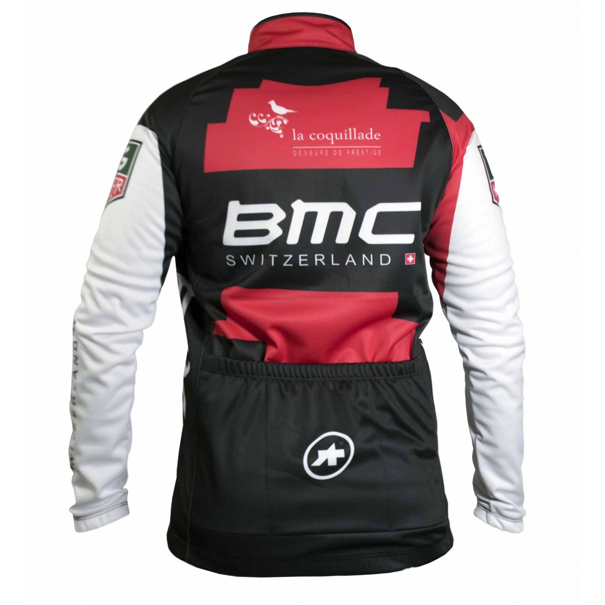 JAQUETA CICLISMO MASCULINA WORLD TOUR BMC REFACTOR