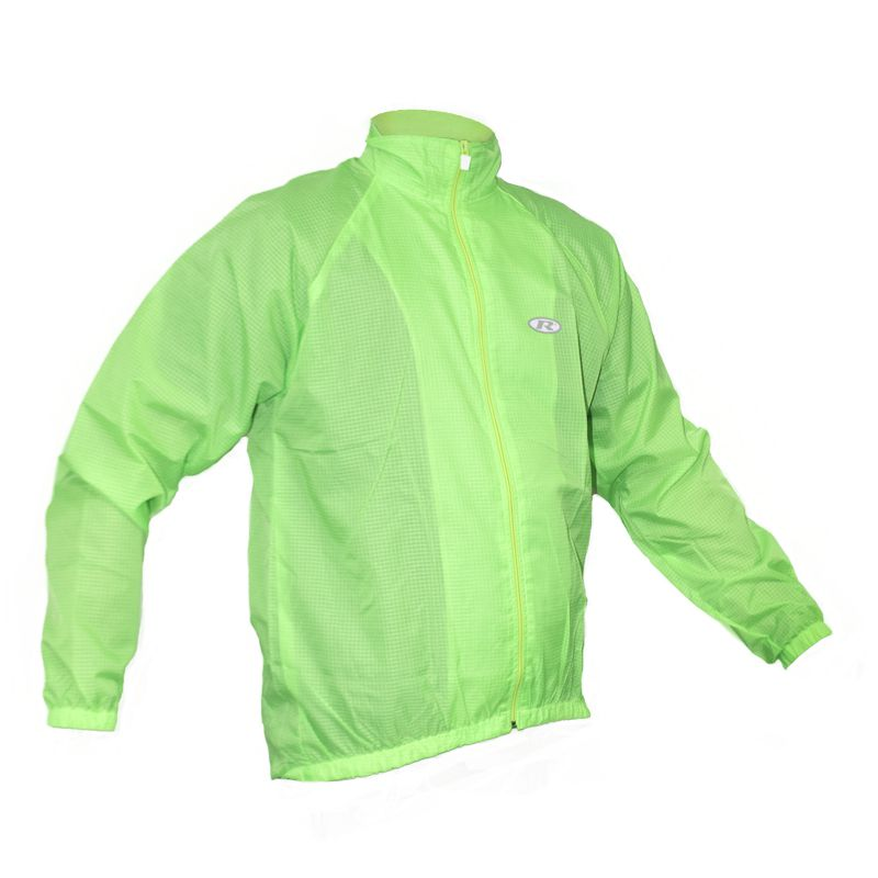 Jaqueta Masculina Ciclismo Corta Vento Verde - Refactor
