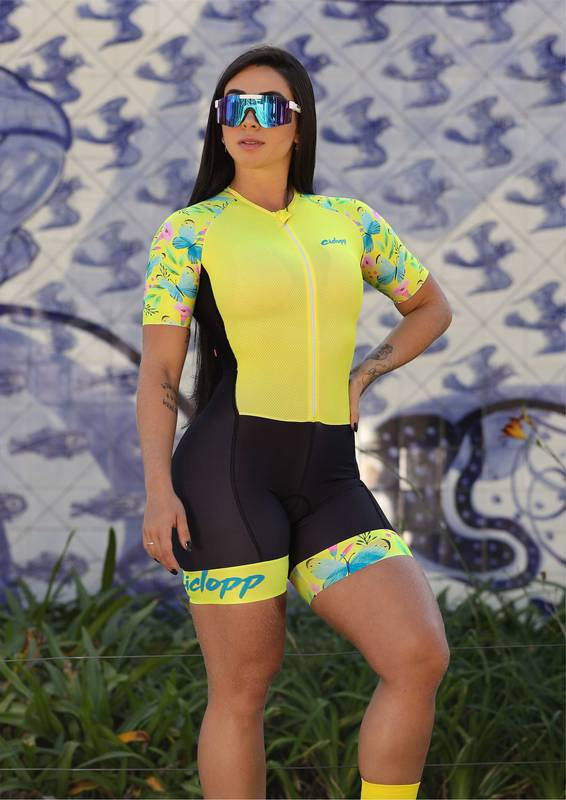Macaquinho Ciclismo Butterflay  - Ciclopp
