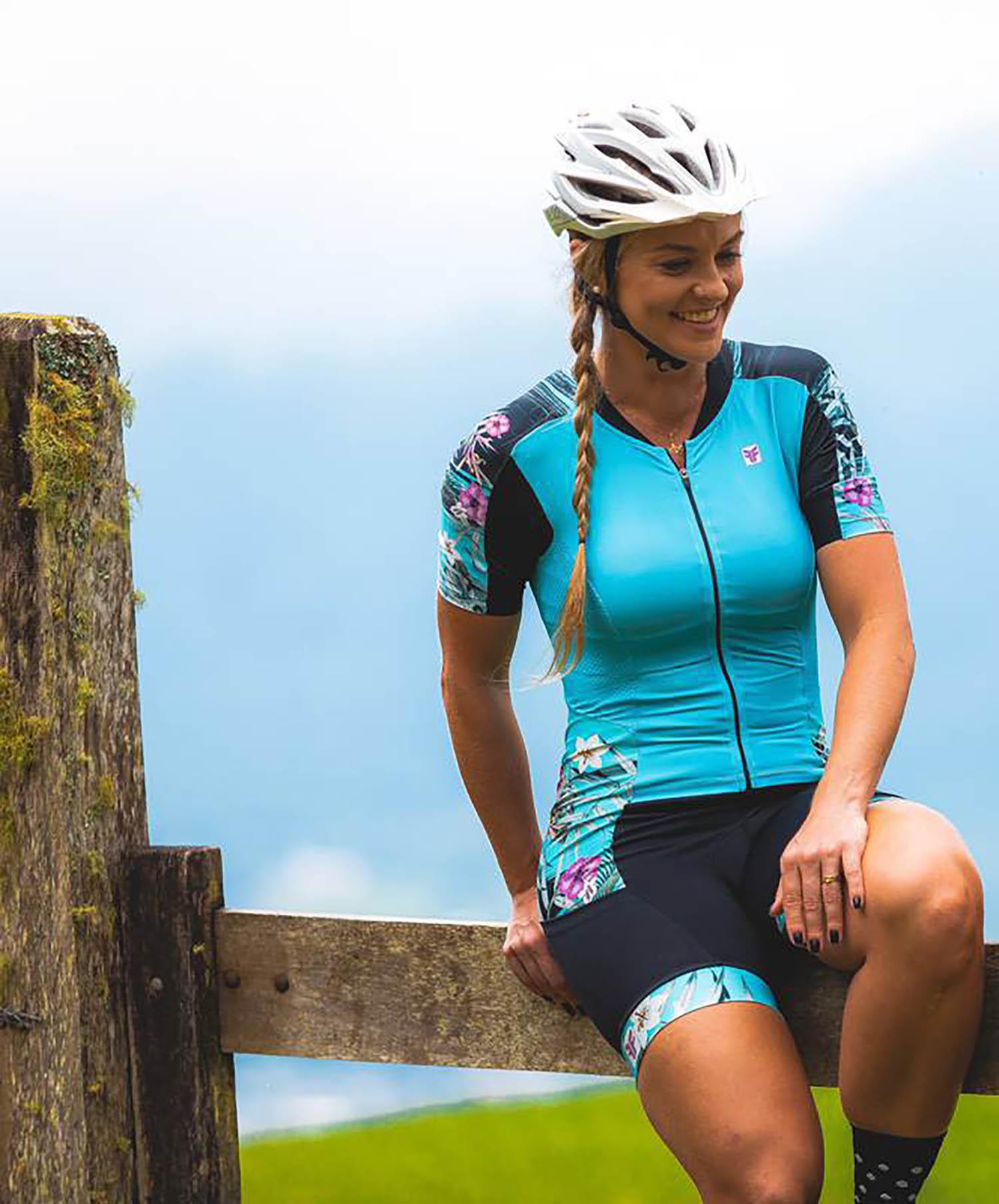 Macaquinho Ciclismo Feminino Pacific - Free Force