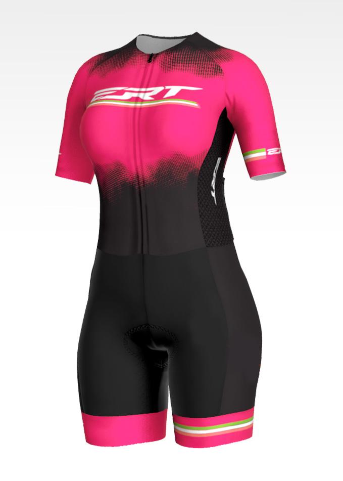Macaquinho Ciclismo New Elite Pink Power  - ERT