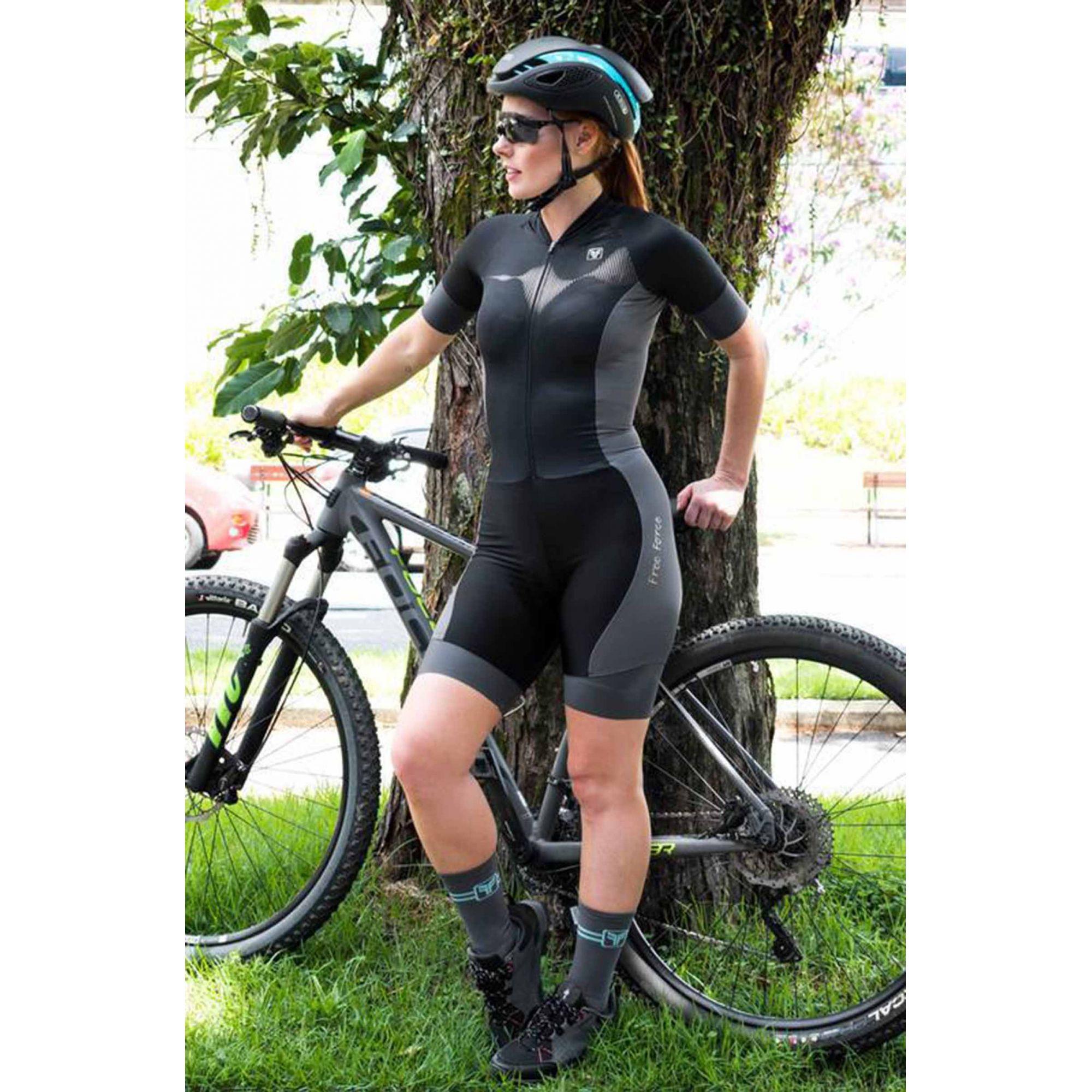 Macaquinho Ciclismo Sport Sound - Free Force